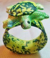 Snappies Snaparound Animal Bracelets green Turtle Free Shipping