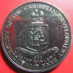 1970-SAINT-VINCENT-4-PROOF-FAO-BANANAS-INAUGURATION-CARIBBEAN-DEVELOPMENT-BANK