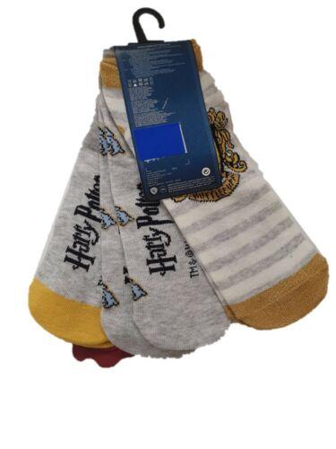 Harry Potter Shoe Liner Pack Of 3 Women/'s Hosiery Socks UK 4-8 Primark