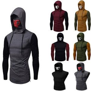 Fashion-Men-Sleeveless-Hoodie-Hooded-Sweatshirt-Tank-Tops-Gym-Fitness-Sport-Vest