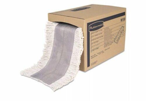 White 1 Box Rubbermaid M150 Cut To Length Dust Mops Cut-end 5 X 40 Ft