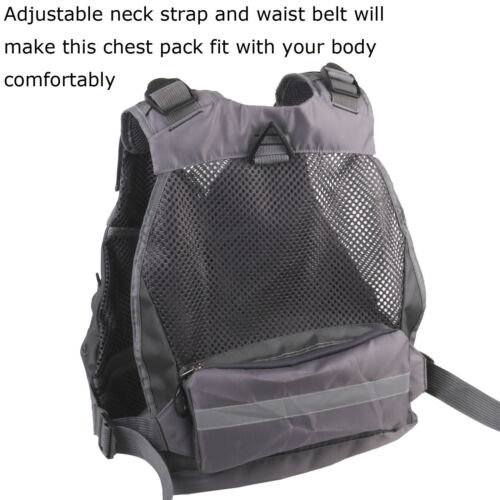 Maxcatch Fly Fishing Mesh Vest /&Nipper Forcep Adjustable Outdoor Pack