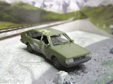 HO 1:87 VW Passat Albedo Unfall Crash Szenario Anlagenbau Auto ANSEHEN