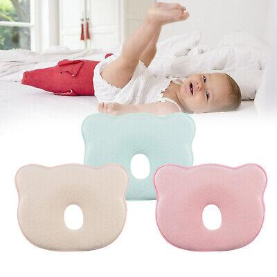 * 2 Bez/ügen orthop/ädisches Lagerungskopfkissen Kinderwagen 3 Jahre Baby Geschenk Zufriedenheitsgarantie Memory Foam BEARPROTECT Baby Kissen gegen Plattkopf von BEARTOP rosa, 0-36 Monate