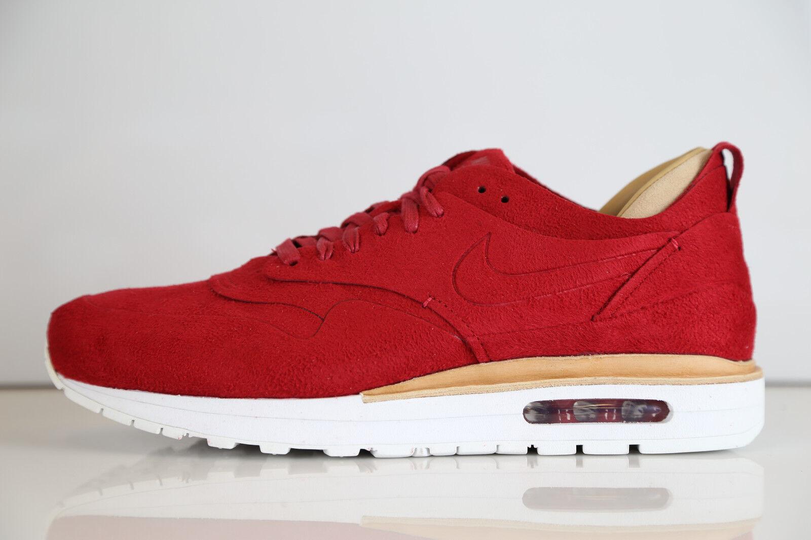 Nike Air Max 1 Royal Gym Red 847671-661 7-13 supreme vachetta tan 90 suede tz qs