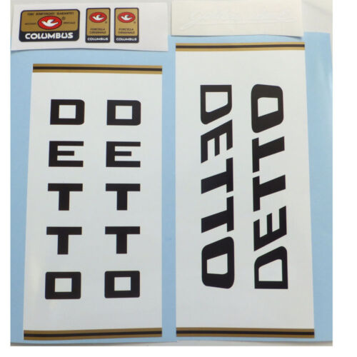 Detto Pietro set of decals vintage choices two styles