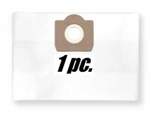 1x reusable zip dust bag for Bosch GAS 15 L GAS 1200 L
