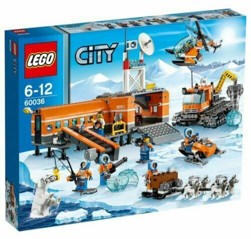 Retired LEGO City 60036 Arctic Base Camp 60036 Brand New in Factory Sealed Box