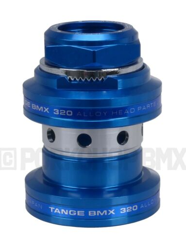 "Tange Seiki MX-320 1/"" Old School BMX Threaded Headset Black Blue Red Gold Silver"