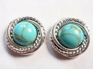 Chalcedony Round w// Rope Style Accents 925 Sterling Silver Stud Earrings