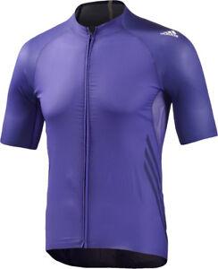 Adidas Adizero à manches courtes pour homme maillot de cyclisme-Violet-afficher le titre d`origine iuSaWF1h-07141559-134228962