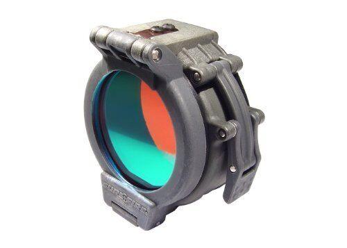 SureFire FM35 Red Filter for Flashlights with 1.25  Diameter Bezels