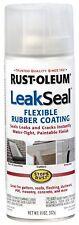 Rust-Oleum 11-Ounce Leak Seal Flexible Rubber Sealant, Clear, 265495, New