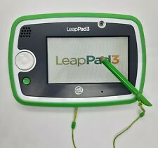 LeapFrog LeapPad 3 Green Learning Tablet Games Activities Camera Educational Toy
