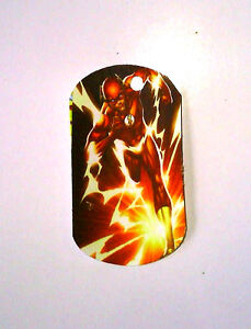 Party Favor Loot Toys Prizes tag  Superhero Justice L 8 Paper Dog tags