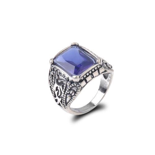 Infinity 925 Silver Women Wedding Rings White Sapphire Fashion Jewelry Size 6-10