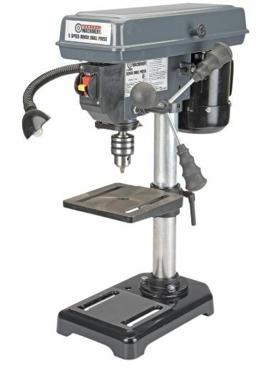 Tremendous Bench Drill Press Table Top W Work Light And 450 Tilt Table 8 5 Speed 1 2 Hp Ibusinesslaw Wood Chair Design Ideas Ibusinesslaworg