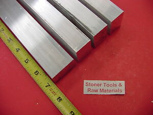 """2 Pieces 1/"""" X 2/"""" X 6/"""" Long ALUMINUM FLAT BAR STOCK SOLID 6061-T6511"""