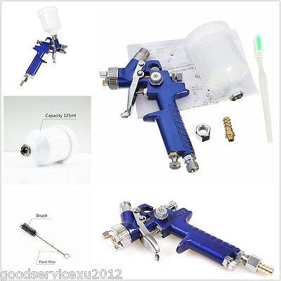 DIY Mini HVLP Autos SUV Body Detail Touch-Up Paint Sprayer Repair Air Spray Gun