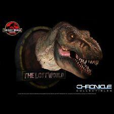 -=] CHRONICLE - Jurassic Park the Lost World T-Rex Bust 1/5 Dinosauri [=-