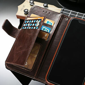 super popular f35b2 0ed8e For iPhone XS MAX X 5 6 7 8 Flip Leather Men's Wallet Card Stand ...