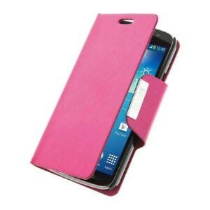 Pour-Samsung-Galaxy-Note-4-Housse-Etui-Portefeuille-Coque-Rose-Magnetique-Anti