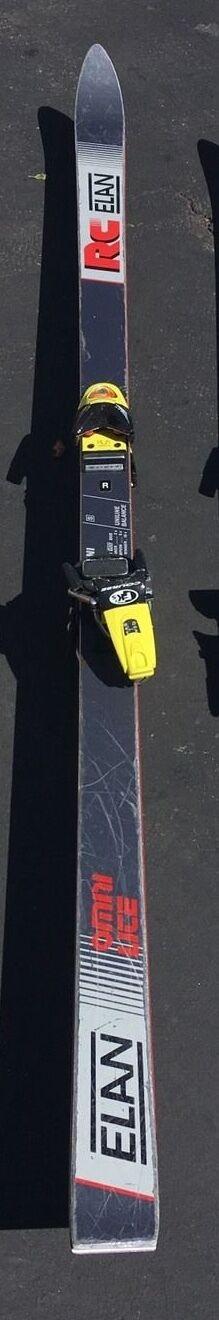 RC Elan Snow Skis Omni Lite 195 cm w  Rossignol Course Racing Bindings
