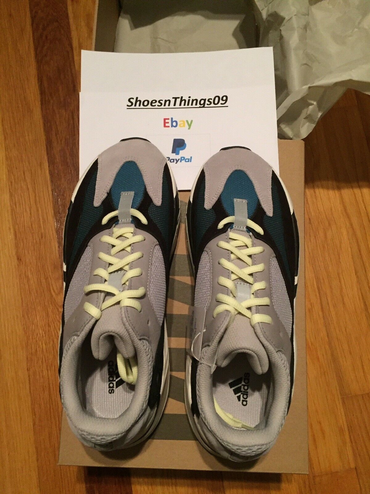 online store 90c2f a5631 ... Adidas Yeezy Ondata Ondata Yeezy Runner 700 Dimensioni 9.5 ...
