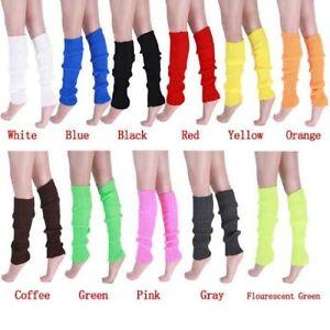 New-Women-Winter-Warm-Knit-Crochet-High-Knee-Leg-Warmers-Leggings-Boot-Socks