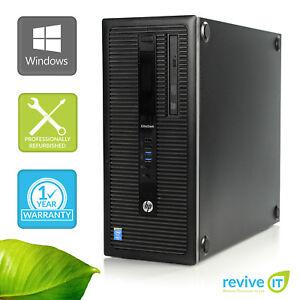 Custom-Build-HP-EliteDesk-800-G1-Tower-i5-4590-3-30GHz-Desktop-Computer-PC