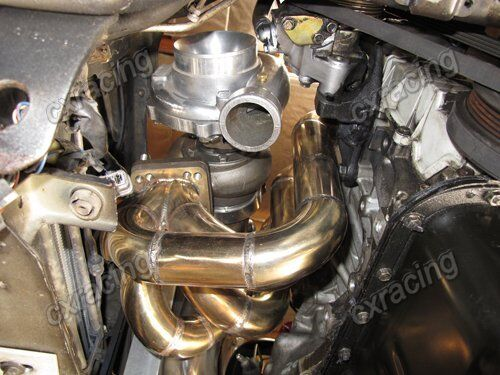 Cxracing Top Mount Thick Wall Manifold for Honda Civic EK EG D15 D16  D-series
