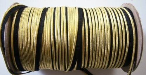"""144 Yards Shiny Gold 3//8/"""" Metallic Piping Sewing Trim Roll pp-194"""