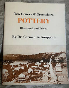 New-Geneva-amp-Greensboro-POTTERY-Illustrated-and-Priced-2nd-Print-1975-C-Guappone