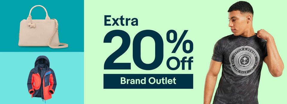 Shop Brand Outlet - Get an Extra 20% off Brand Outlet