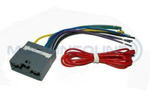 Details about Radio Wire Harness Aftermarket Radio Stereo Installation on