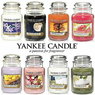 Yankee Candle Large 22oz Glass Jar 623g