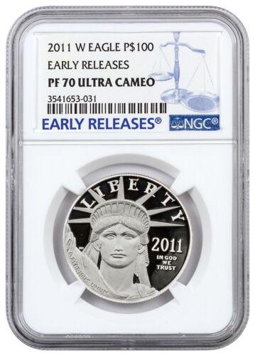 2011-W $100 1 oz Proof American Platinum Eagle NGC PF70 UC ER SKU23337