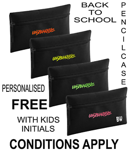 unspeakable PENCILCASE back to school PERSONALISED FREE conditions apply