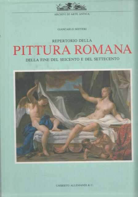 Repertorio della pittura romana della fine del Seicento e del Settecento. SL*