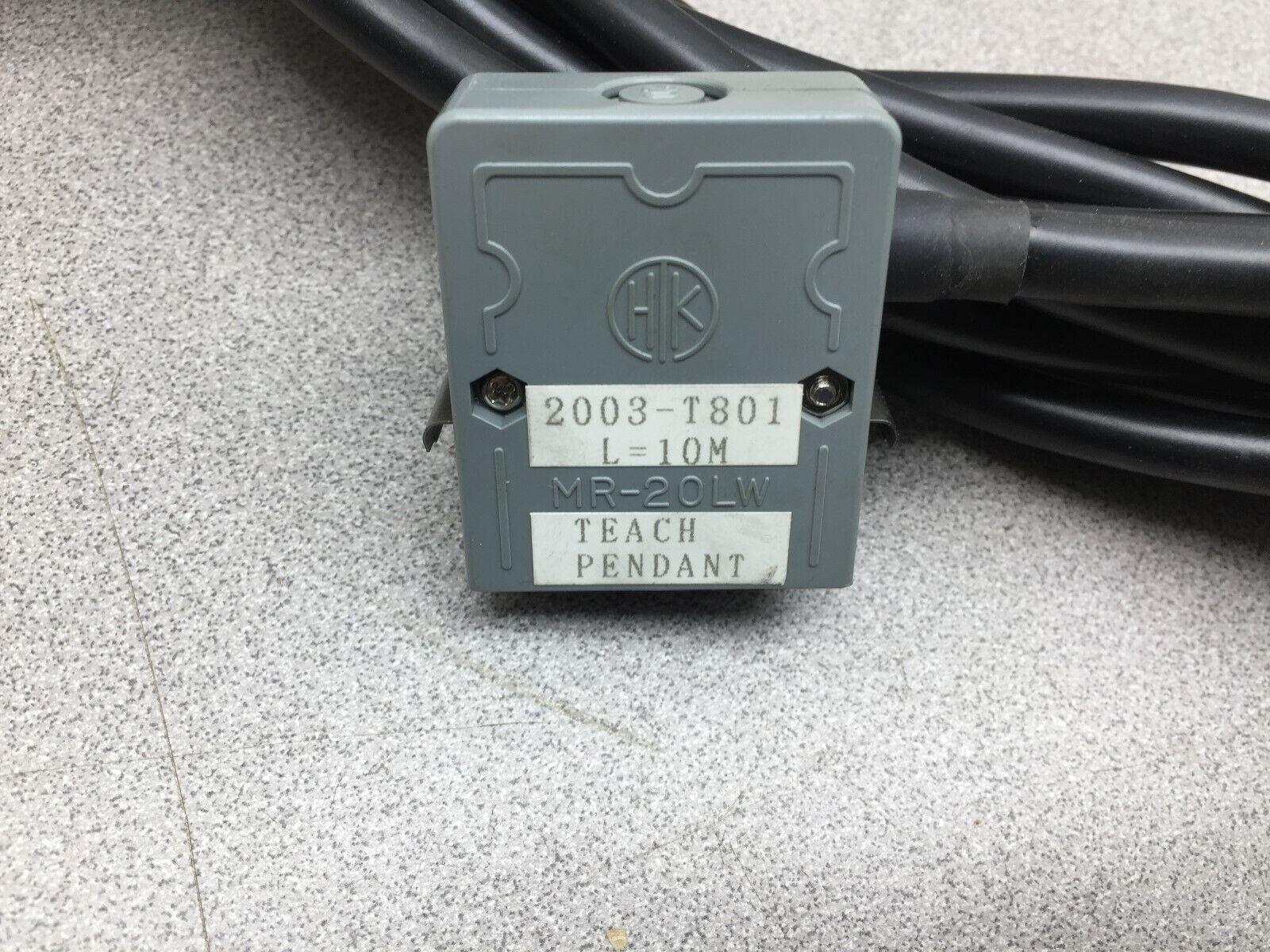 USED  FANUC 10M TEACH PENDANT I-CAB A660-2003-T801
