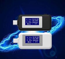 Digital Usb C Tester Voltmeter Ampermeter Voltage Current Meter Usb C