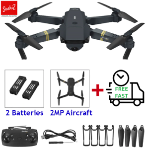 Responsible Eachine Drone X Pro Foldable 2.4ghz Quadcopter Wifi 1080p Camera 4 Pcs Batteries Rc Model Vehicles & Kits
