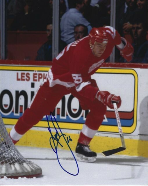 Detroit Red Wings Keith Primeau Autographed Signed 8x10 Photo COA #2