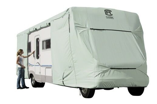 Classic Accessories 80-130 PermaPRO Class C RV Cover 26-feet - 29-feet