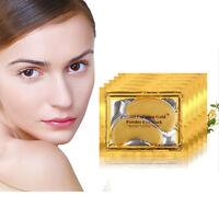 Collagen Gold Under Eye Mask Patches Pad Anti-aging Dark Circle Crystal Gel Us