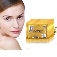Collagen Gold Under Eye Mask Patches Pad Anti-aging Dark Circle Crystal Gel Us