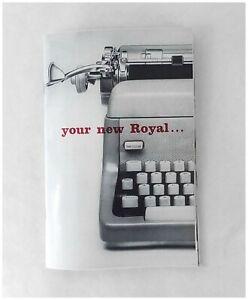 Royal FP Typewriter User Manual