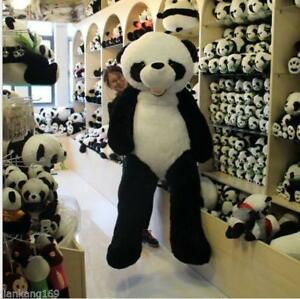 72 Super Hung Big Panda Bear Stuffed Bolster Plush Dolls Toy