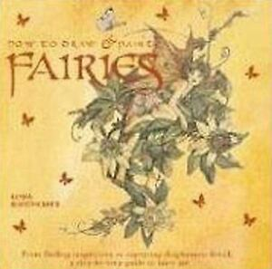 Details about How to Draw and Paint Fairies by Linda Ravenscroft Drawing Book