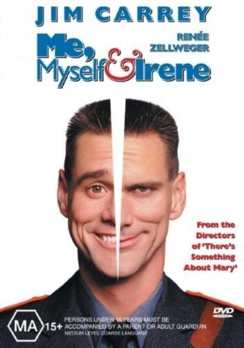 1 of 1 - Me, Myself And Irene (2000) Jim Carrey - NEW DVD - Region 4
